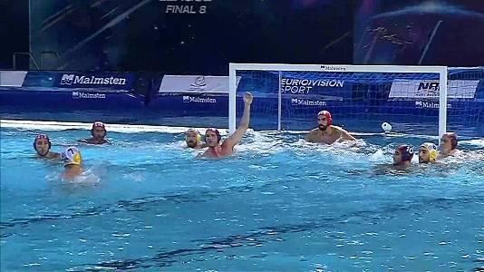 Liga europea masc.Final Eight: CN Barceloneta-Olympiacos P