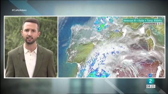 Fortes tempestes al Pirineu i cap de setmana canviant