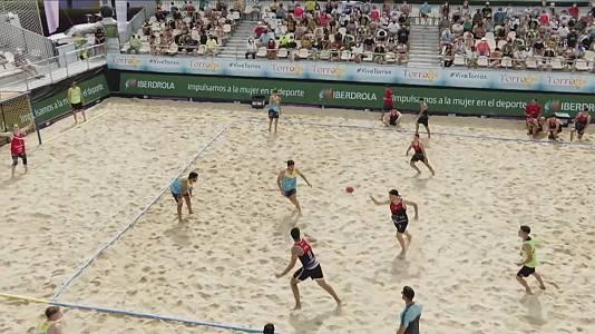 Balonmano Playa - Copa de España. Resumen