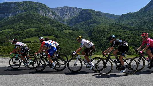 Criterium du Dauphiné. 6ª etapa: Loriol sur Drome - Le Sappe