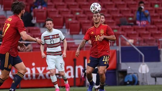 UEFA amistosos 2021: España - Portugal