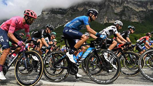 Criterium Dauphiné. 7ª et: S. Martin Le Vinoux - La Plagne