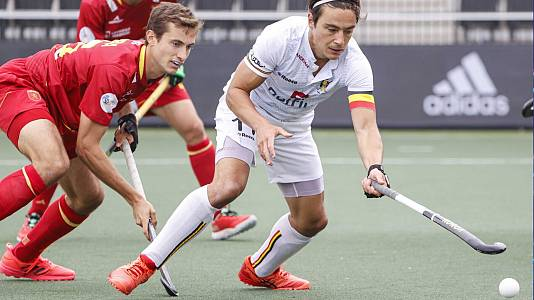 Campeonato de Europa masculino: España - BélgIca