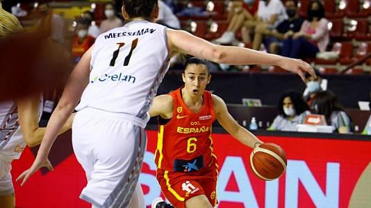 Gira preparación de Eurobasket femenino: España - Bélgica