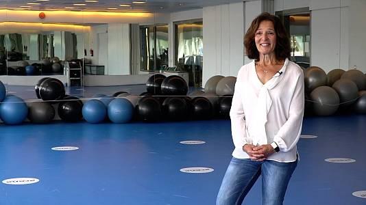 Miriam Blasco, medalla de oro de judo en Barcelona'92