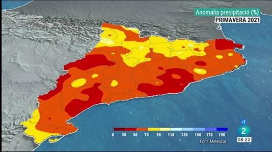 L'estiu podria ser més càlid, i sec com la primavera
