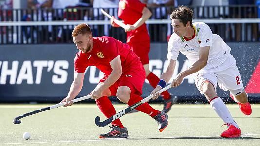 Campeonato de Europa masculino: España - Inglaterra