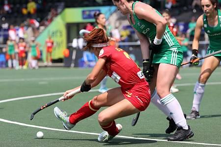 Campeonato de Europa femenino: Irlanda - España