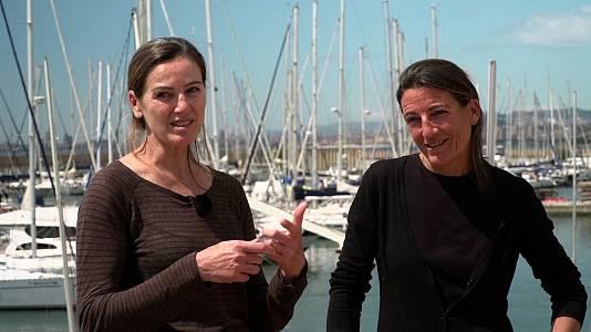 Vela. Natalia Vía-Dufresne y Sandra Azón