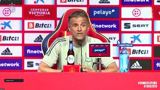 Rueda de prensa Luis Enrique, seleccionador nacional fútbol