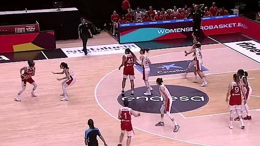Gira preparación Eurobasket femenino 2021: España - Turquía