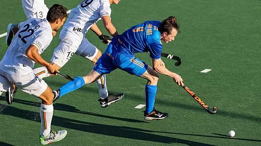 Cto. de Europa masc.. 2ª semifinal: Países Bajos - Bélgica