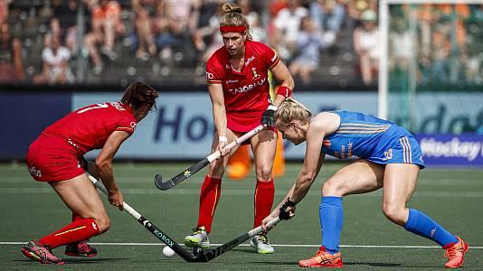 Cto. de Europa femenino. 1ª semifinal: Holanda - Bélgica