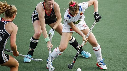 Cto. de Europa femenino. 2ª semifinal: Alemania - España