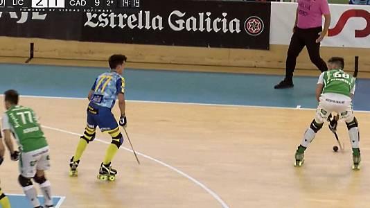 Copa del Rey.1ª semifinal: Dep. Liceo - Rec. Làser Ch Caldes