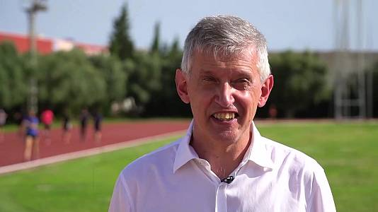 Daniel Plaza, medalla de oro marcha 20 km en Barcelona'92