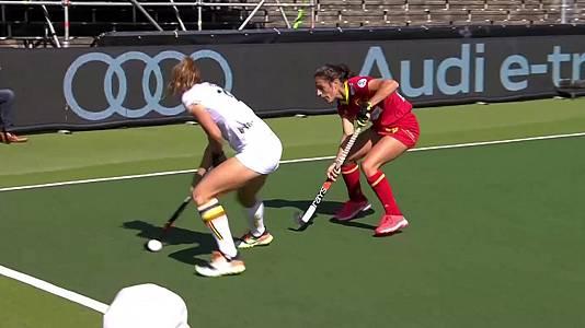 Cto. de Europa femenino. 3º y 4º puesto: Belgica - España