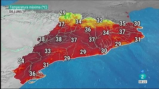 La calorada toca sostre i no afluixarà fins dijous
