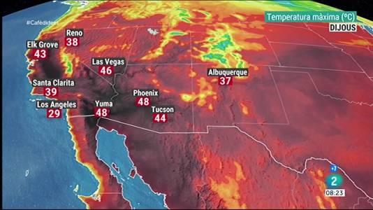 Onada de calor a l'oest dels EEUU