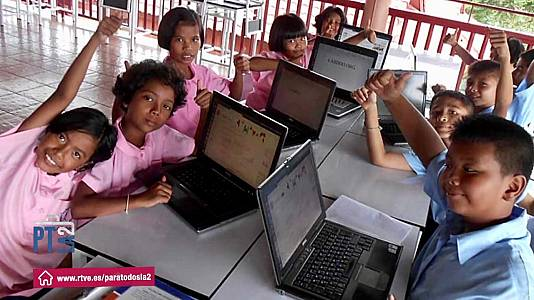 La brecha digital que sufe el Tercer Mundo.