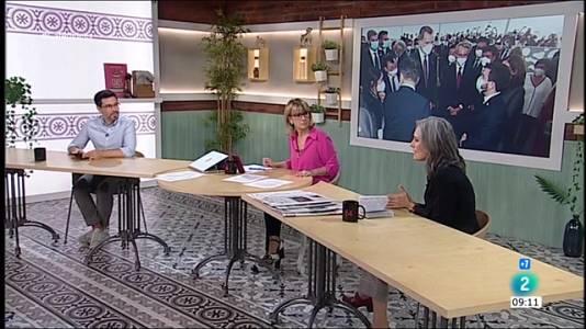 Antonio Garamendi, Francina Armengol i Aragonès amb Felip VI