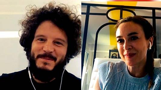 Charla con Marta Hazas y Xosé A. Touriñán