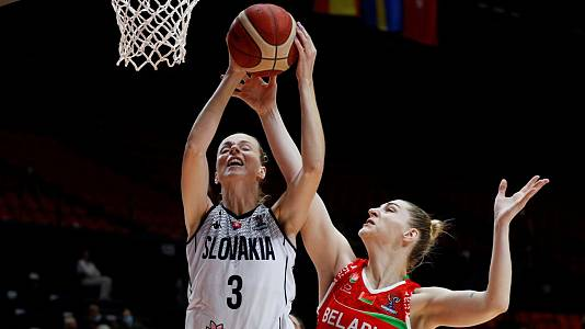 Campeonato de Europa Femenino: Eslovaquia - Bielorrusia