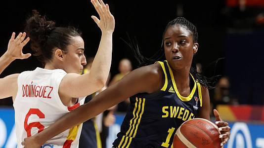 Campeonato de Europa Femenino: España - Suecia