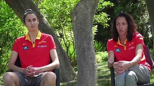 Baloncesto femenino con Laia Palau y Alba Torrens