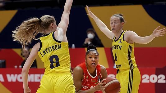 Campeonato de Europa Femenino: Suecia - Bielorrusia