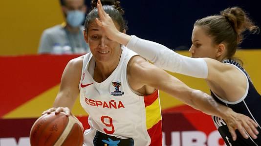 Campeonato de Europa Femenino: España - Eslovaquia