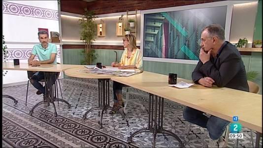 Jéssica Albiach, Javier Melero i tertúlia esportiva