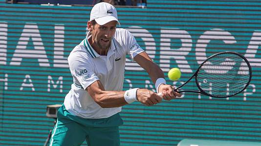 ATP 250 Torneo Mallorca: N. Djokovic/C. Gómez-Herrer