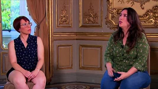 Tania Opazo e Inger Díaz Barriga