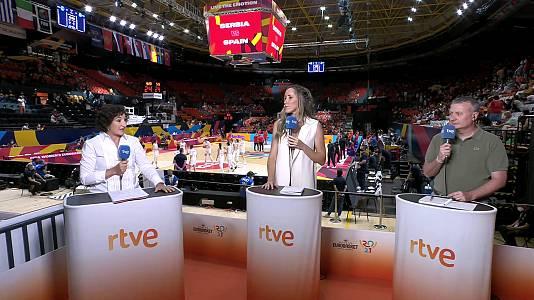 Programa Baloncesto Campeonato de Europa - 23/06/21