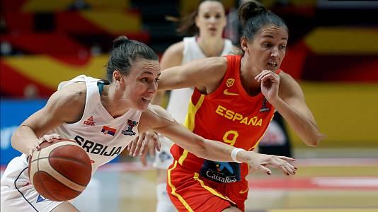 Campeonato de Europa femenino. 1/4 Final: Serbia - España
