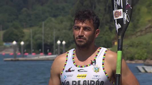 """Piragüismo. Carlos Pérez Rial """"Perucho"""" y Saúl Craviotto"""