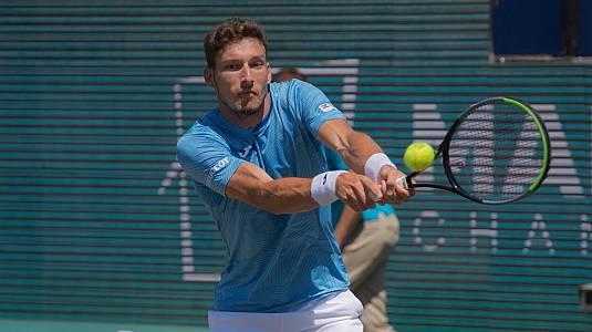 ATP 250 Torneo Mallorca: Carreño Busta -  Thompson