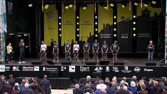 Tour de Francia. Presentación equipos desde Brest