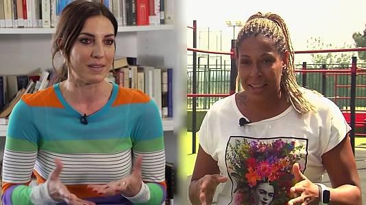 Balonmano femenino: Eli Pinedo y Marta Mangué, Londres 2012