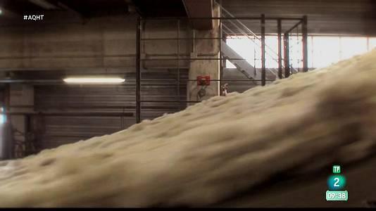 Cómo se fabrica la lana de roca