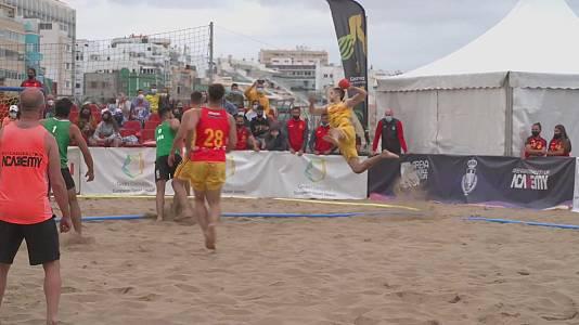 Balonmano Playa - Torneo internacional de España selecciones nacionales