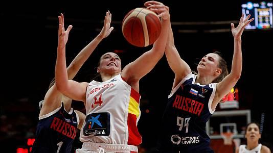 Campeonato de Europa femenino: España - Rusia