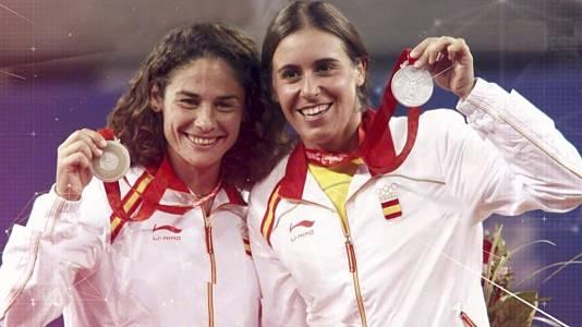 Tenis. Virginia Ruano y Anabel Medina