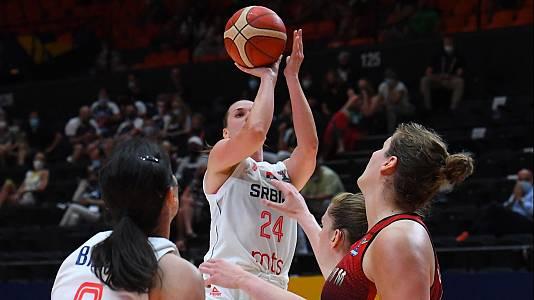 Camp. de Europa femenino. 2ª Semifinal: Serbia - Bélgica