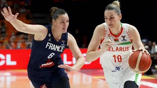Camp. de Europa femenino. 1ª Semif.: Bielorrusia - Francia