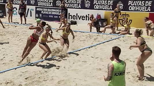 Balonmano Playa - Arena Handball Tour. Final femenina