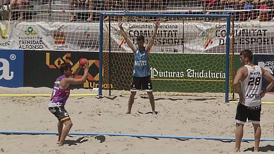 Balonmano Playa - Arena Handball Tour. Final masculina