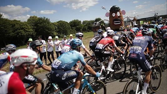 Tour de Francia.Etapa 2: Perros-Guirec -Mur de Bretagne (1)