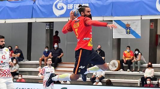Balonmano - EHF Cup Selecciones masculinas. 4ª jornada: Espa